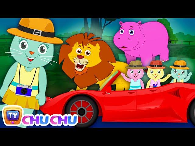 Three Little Kittens Went To The Zoo (SINGLE) | Nursery Rhymes by Cutians | ChuChu TV Kids Songs