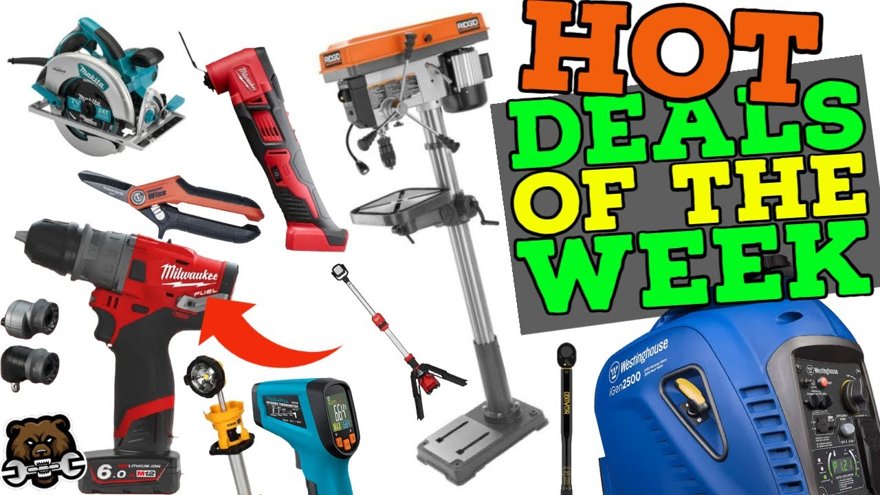 Tool Deals of the Week 10/11/21