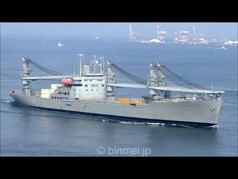 SS GRAND CANYON STATE T-ACS-3 - United States Navy MSC crane ship 米海軍国防予備船隊コンテナ船