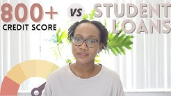 How Paying off Student Loan Debt Affected My 800+ Credit Score: Drop vs Raise