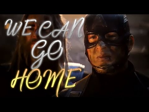 Steve Rogers || We Can Go Home (ENDGAME SPOILERS)