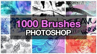 1000 Brushes Photoshop