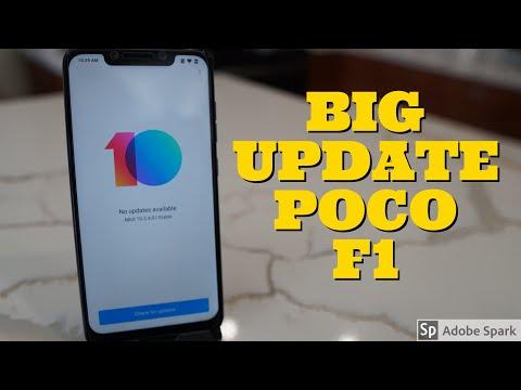 Pocophone F1 - MIUI 10.3.4.0 Stable Update