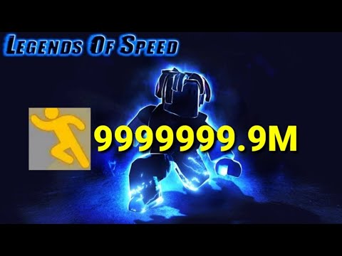 The Fastest Player In Roblox Legend Of Speed!