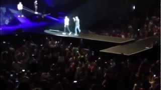 Harry Styles making a joke Liam falling in Mohegan Sun Arena