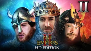 1 Runde mit Age Of Empires II HD Edition #02 mit Florentin, Donnie & Marco