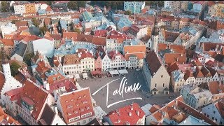 Tallinn 4K shot on iPhone X and DJI Mavic