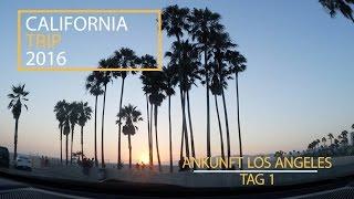 CALIFORNIA VLOG #1 | Ab nach Los Angeles [Deutsch] [HD]