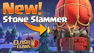 ITS TIME OF STONE SLAMMER # LETS UNLOCK N ATTACK #CLASH OF CLANS #INDIA