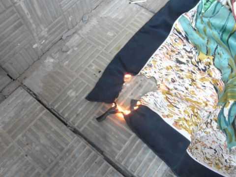 Отпаривание и глажка деликатных тканей отпаривателем: шелк .