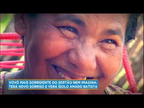 Conheça dona Maria, a vovó mais sorridente do sertão