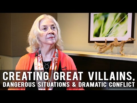 Creating Great Villains, Dangerous Situations, & Dramatic Co