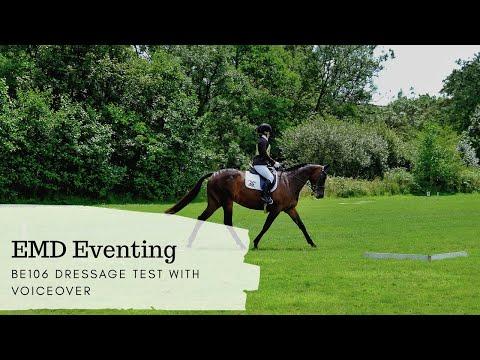 BE106 Dressage Test - EMD Eventing