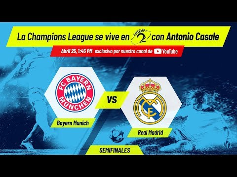 Bayern Munich vs Real Madrid EN VIVO | Champions League