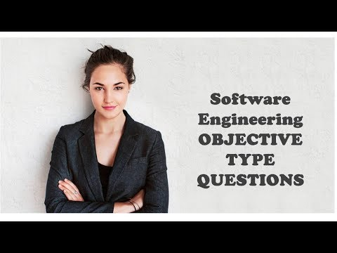 Software Engineering  OBJECTIVE TYPE QUESTIONS