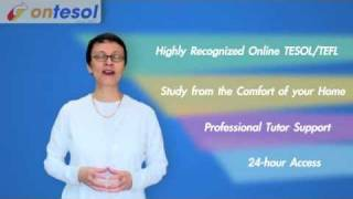 Ontesol - Your Trusted TESOL Certification Provider