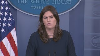 1/11/18: White House Press Briefing