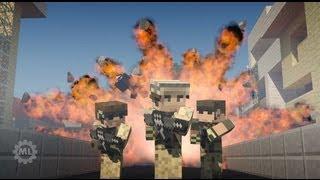 Minecraft Animation | BATTLECRAFT