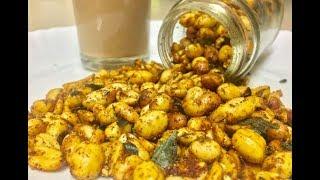 Masala peanuts by cooking with girija/Bangalore mysore famous snack congress kadalekai in hindi