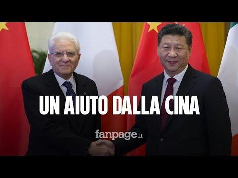 Coronavirus, la Cina dona all'Italia 100mila mascherine e 50mila tamponi