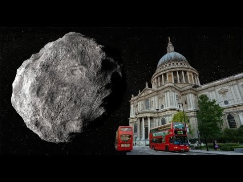 A 'potentially hazardous' asteroid bigger than St. Paul's Cathedral just zoomed past Earth