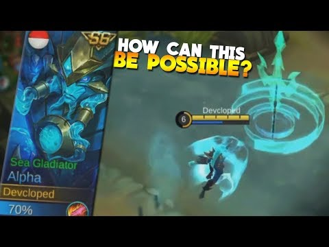 NEW Season 6 Alpha Skin Gameplay! (Sea Gladiator) Mobile Legends