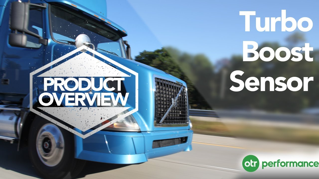 Volvo Truck Turbo Boost Pressure Sensor | Product Overview | OTR Performance