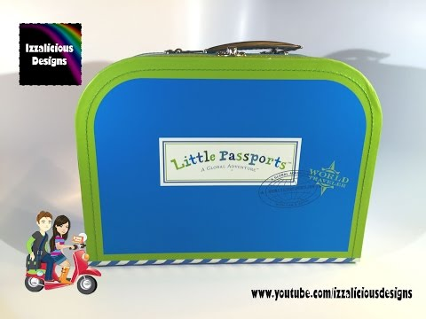 Little Passports - Unboxing First Package of World Edition