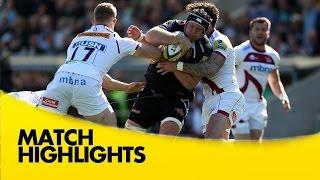 Exeter Chiefs v Sale Sharks - Aviva Premiership Rugby 2014/15