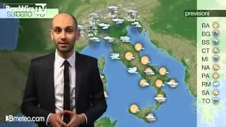 Meteo: le previsioni per domani
