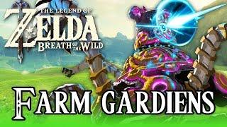 CHASSE AUX GARDIENS ! | Zelda Breath of the Wild