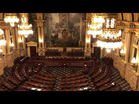 House Chamber of State Capital of Pennsylvania