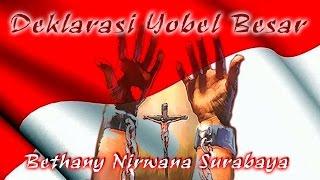 """Deklarasi Yobel Besar - Bethany """"Family Blessing"""" Nirwana Surabaya"""