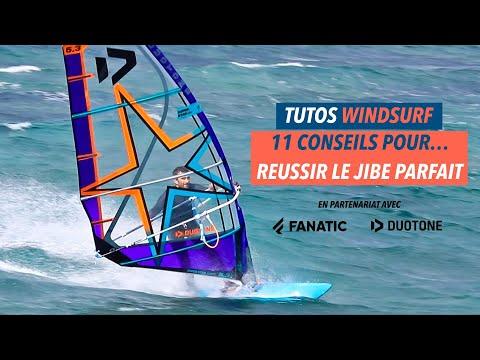 [Tuto jibe windsurf]