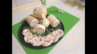 Самый простой рецепт вареной колбасы.Из 2 х филе -1,2 кг  колбасы