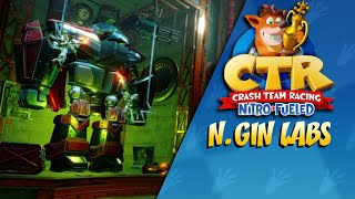 Crash Team Racing Nitro Fueled: N. gin Labs Gameplay (PS4)