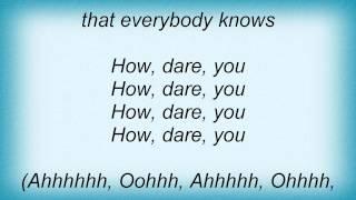 The Futureheads - Cope Lyrics