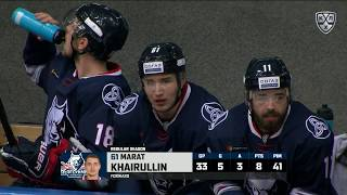 Khairullin ties the game with huge goal