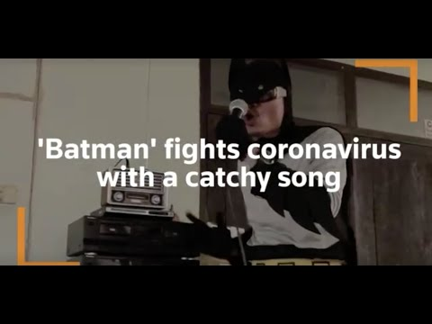 Batman fights coronavirus with a catchy song. from YouTube · Duration:  1 minutes 31 seconds