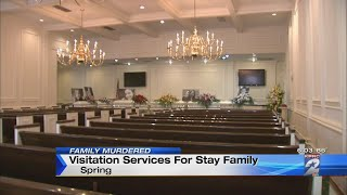 Visitation held for Stay family members killed during mass shooting