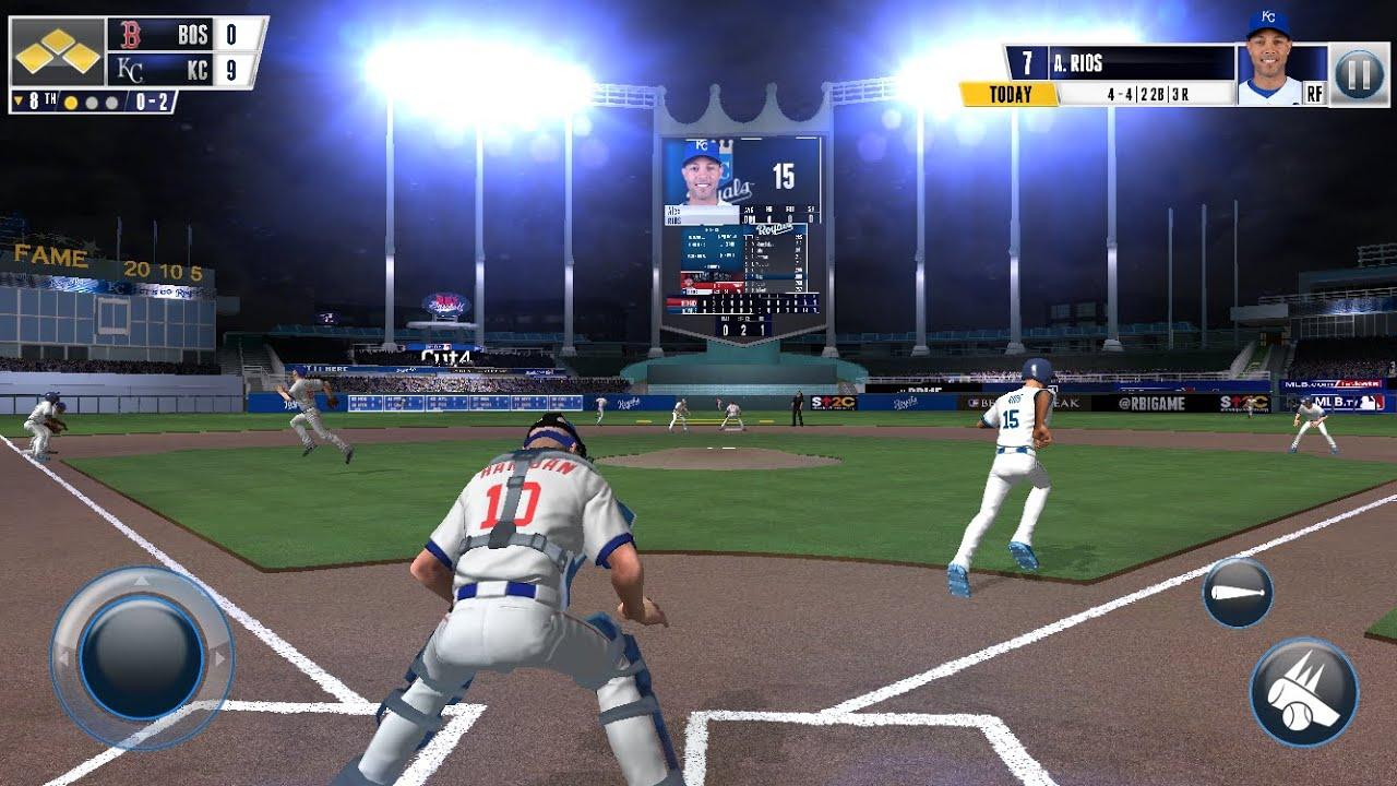 R B I  Baseball 2016 Android   I play Like a NOOB   Real Baseball   HD  Gameplay   MLB