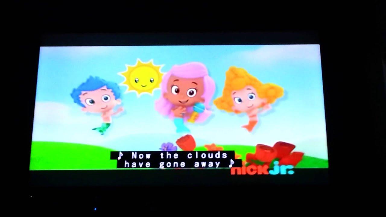 bubble guppies good morning mr grumpfish music light and