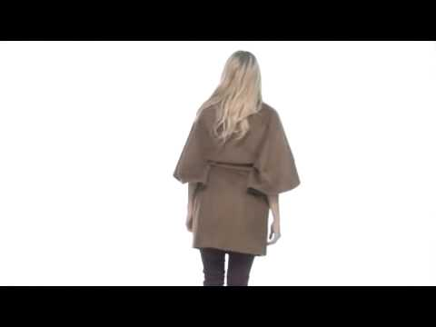 Hilary Radley Studio - Wool Blend Cape SKU:#8083944