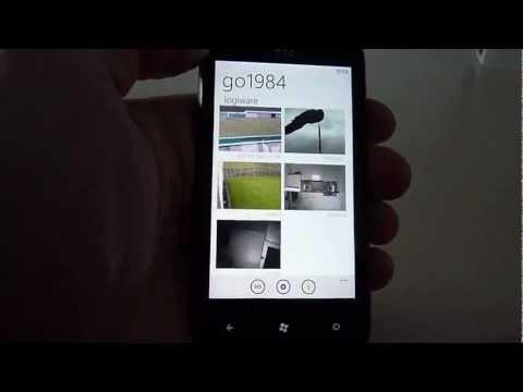 go1984 Videoüberwachung - logiware: go1984 Windows Phone 7 Client