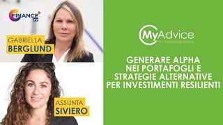 Generare Alpha nei portafogli , strategie alternative per investimenti resilienti