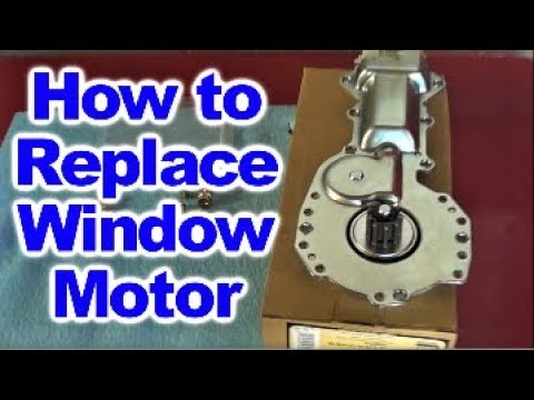 How to replace a Window Lift Motor on 4th Generation Pontiac Firebird