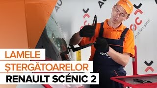 Cum schimbare Lamela stergator RENAULT SCÉNIC II (JM0/1_) - tutoriale video