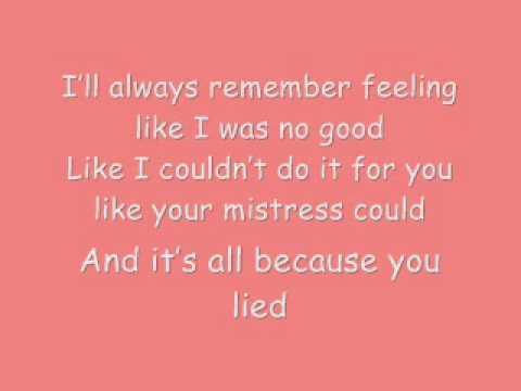 Beyoncé - Resentment Lyrics (B-day)