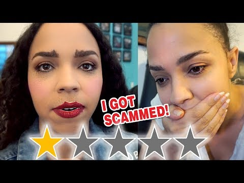 I WENT TO THE WORST REVIEWED MAKEUP ARTIST IN MY CITY - I WAS SCAMMED! thumbnail