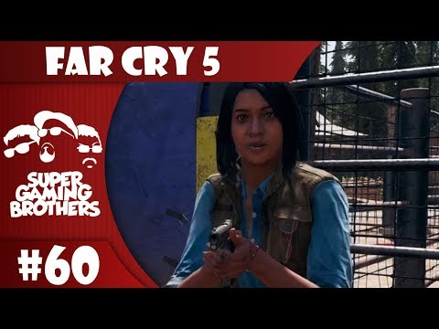 SGB Play: Far Cry 5 - Part 60 | A Cougar, A Bear, and A Dinosaur Swim in a Lake... thumbnail